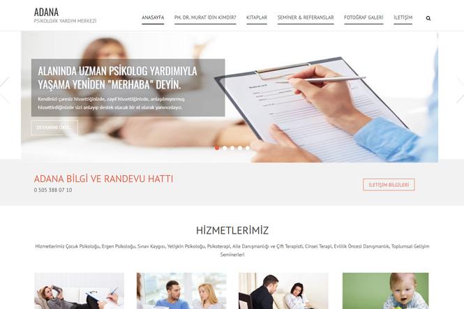 Kişisel Sayfa / Blog Tasarımı