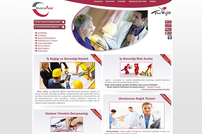 Medical Asist Websitesi